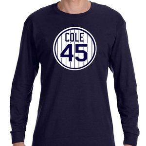 New York Yankees Gerrit Cole Long Sleeve Shirt